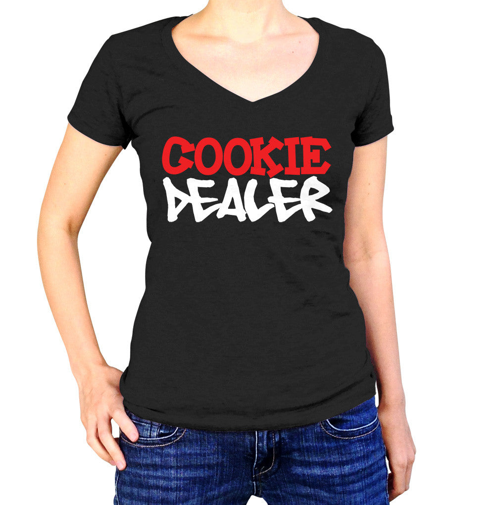 Cookie Dealer Shirt - Ladies V Neck - UMBUH
