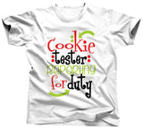 Christmas Cookie Taster Reporting For Duty Shirt - Unisex Tee - UMBUH