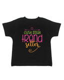 Cute Little Trend Setter T-Shirt - Kids T Shirt - UMBUH