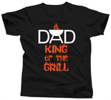 Dad King Of The Grill Shirt - Unisex Tee - UMBUH