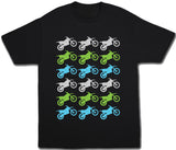 Dirt Bike Motocross Shirt - Kids T Shirt - UMBUH