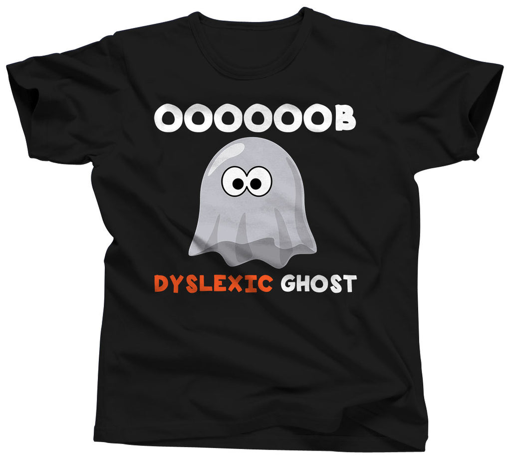 Dyslexic Ghost T-Shirt - Unisex Tee - UMBUH