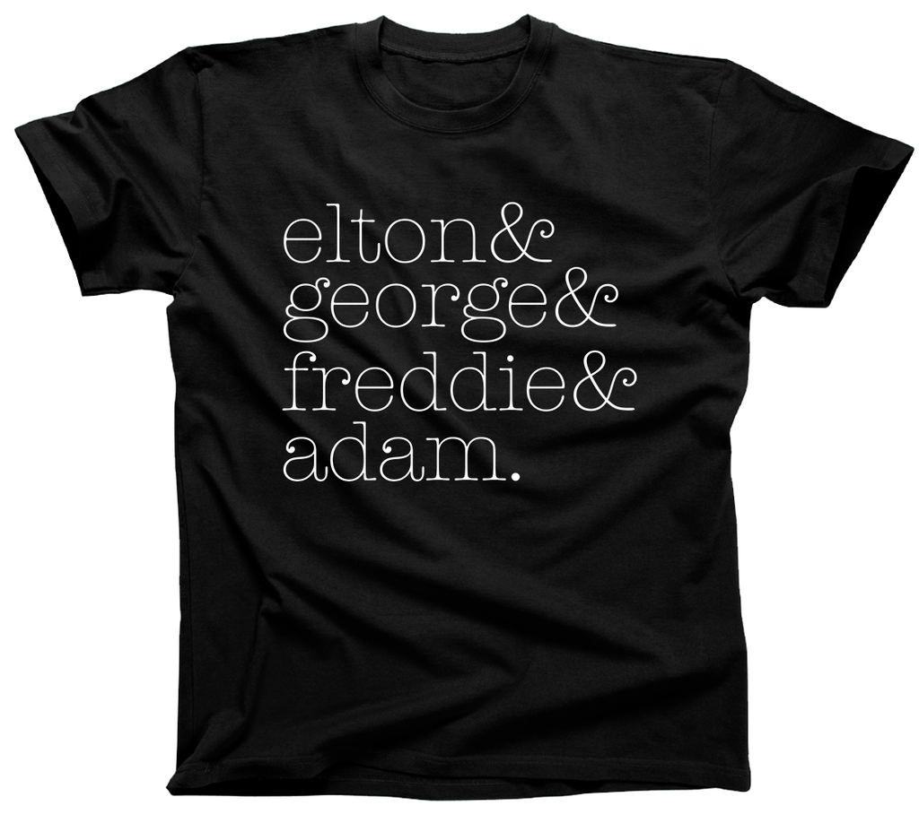 Elton George Freddie and Adam Shirt - Unisex Tee - UMBUH