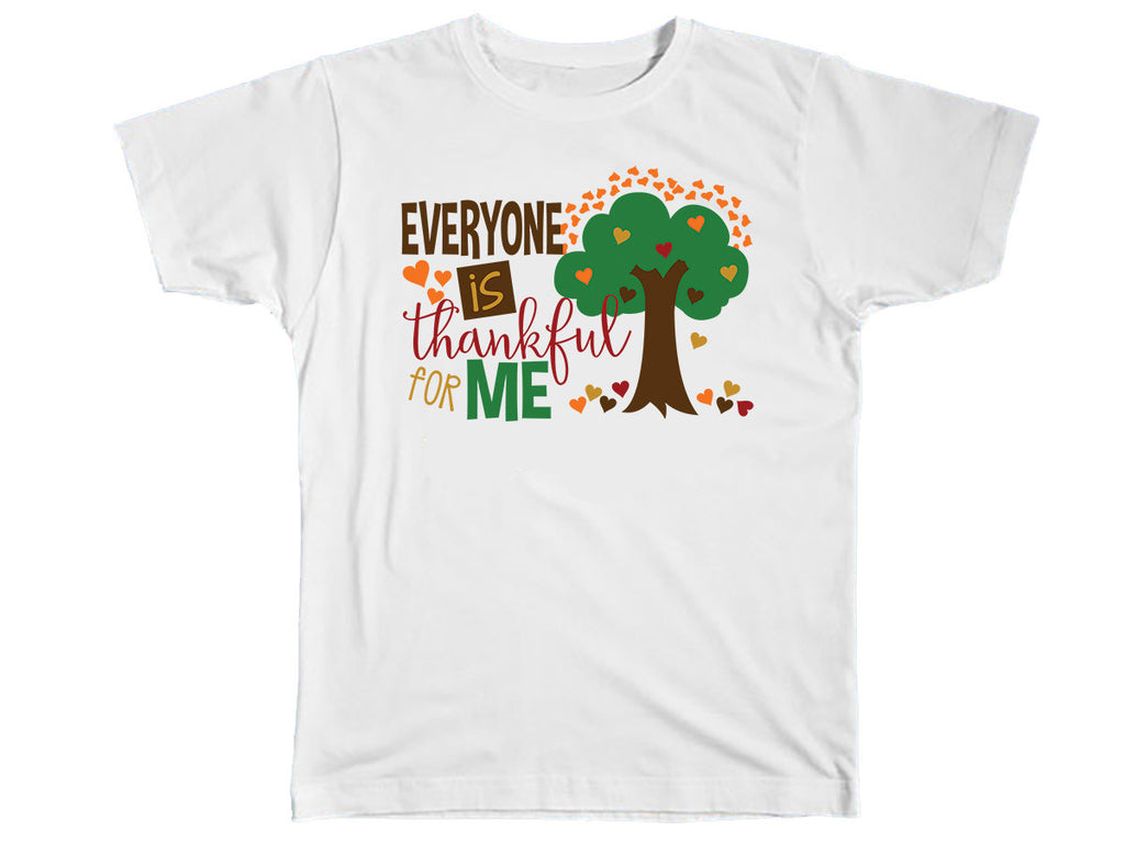 Everyone Is Thankful For Me Shirt - Kids T Shirt - UMBUH
