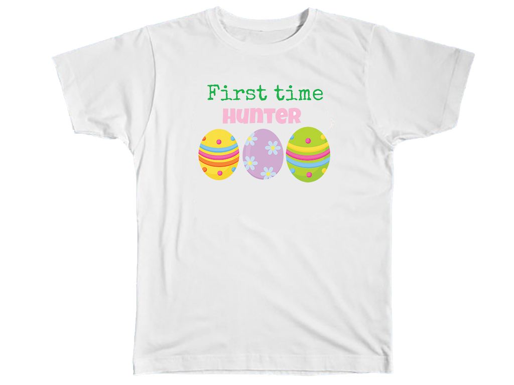 First Time Hunter Shirt - Kids T Shirt - UMBUH