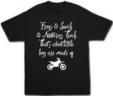 Frogs and Snails and Motocross Trails Shirt - Kids T Shirt - UMBUH