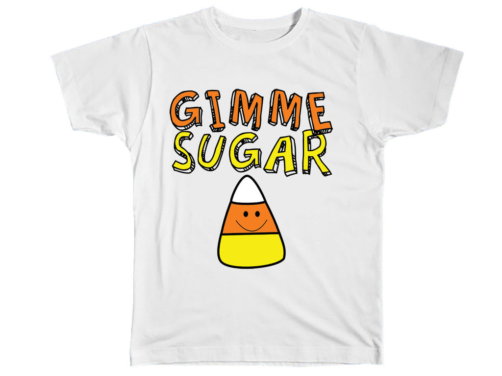 Gimme Sugar Halloween Shirt - Kids T Shirt - UMBUH