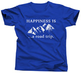 Happiness Is A Road Trip T-Shirt - Unisex Tee - UMBUH
