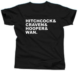 Horror Movie Directors Hitchcock T-Shirt - Unisex Tee - UMBUH