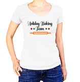 Holiday Baking Team Christmas T-Shirt