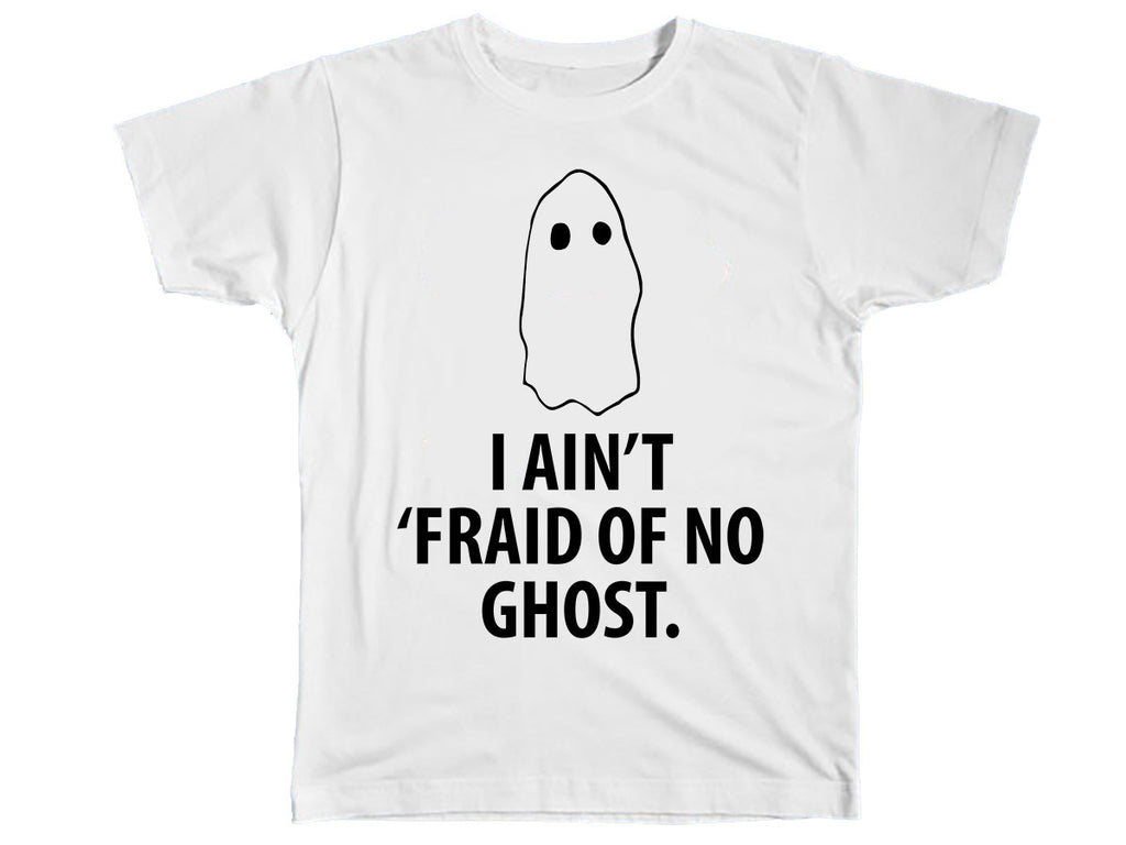I Ain't Fraid Of No Ghost Halloween T-Shirt - Kids T Shirt - UMBUH