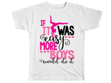 If It Was Easy More Boys Would Do Gymnastics Shirt - Kids T Shirt - UMBUH