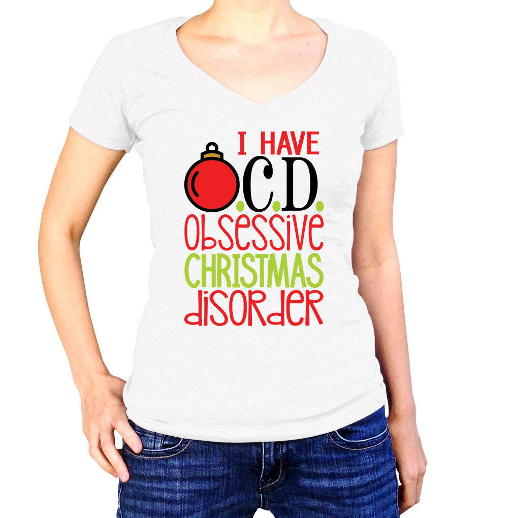 I Have OCD Obsessive Christmas Disorder Shirt – UMBUH