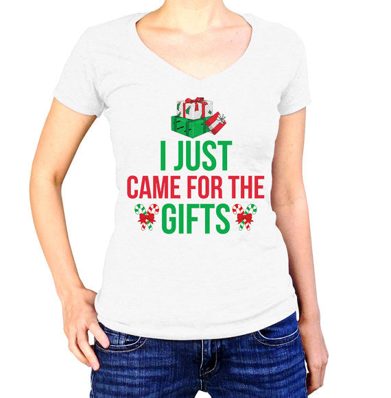 I Just Came For The Gifts Christmas T-Shirt