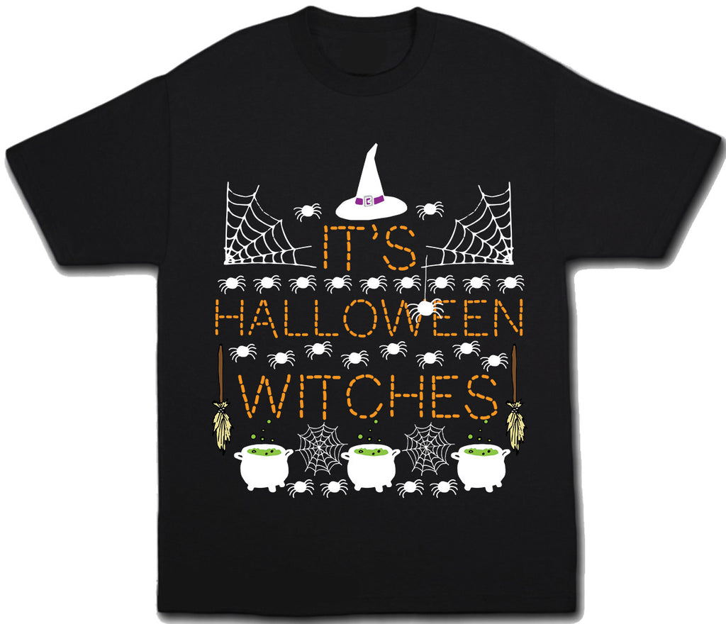 It's Halloween Witches T-Shirt - Kids T Shirt - UMBUH