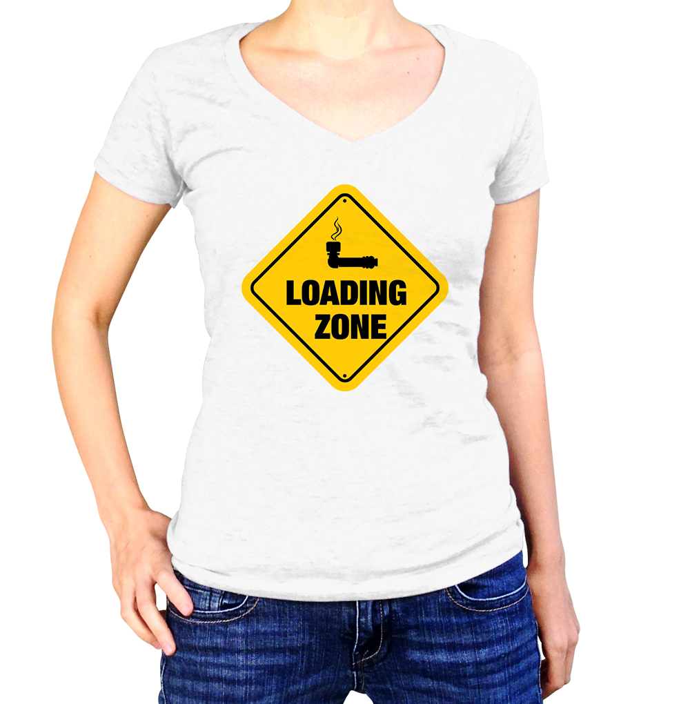 Loading Zone Shirt - Ladies V Neck - UMBUH
