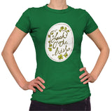 Luck O' The Irish Shirt - Ladies Crew Neck - UMBUH