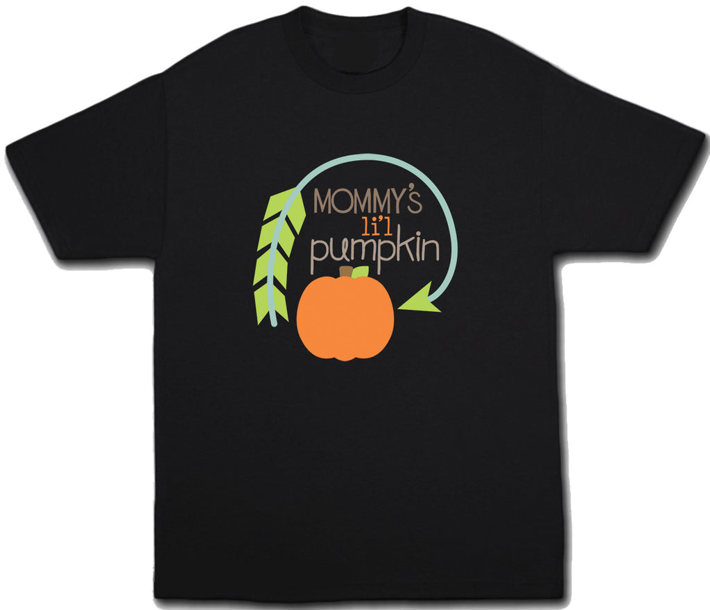 Mommy's Lil Pumpkin Halloween T-Shirt - Kids T Shirt - UMBUH