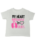 My Heart Beats in 8 Counts Dance T-Shirt - Kids T Shirt - UMBUH