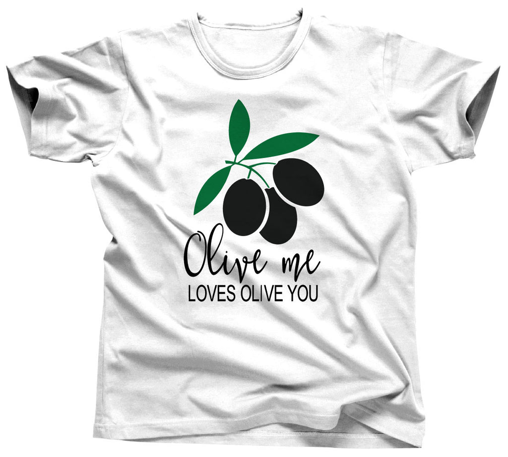 Olive Me Loves Olive You T-Shirt - Unisex Tee - UMBUH