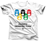 Olympic Drinking Team T-Shirt - Unisex Tee - UMBUH
