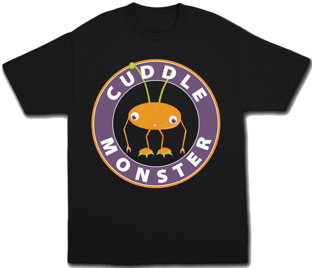 Cuddle Monster Halloween T-Shirt - Kids T Shirt - UMBUH