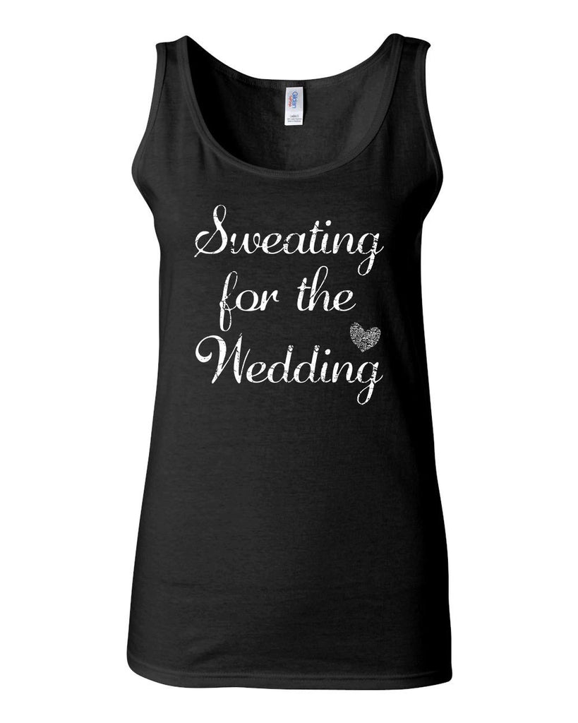 Sweating For The Wedding Tank - JUNIOR FIT TANK - UMBUH