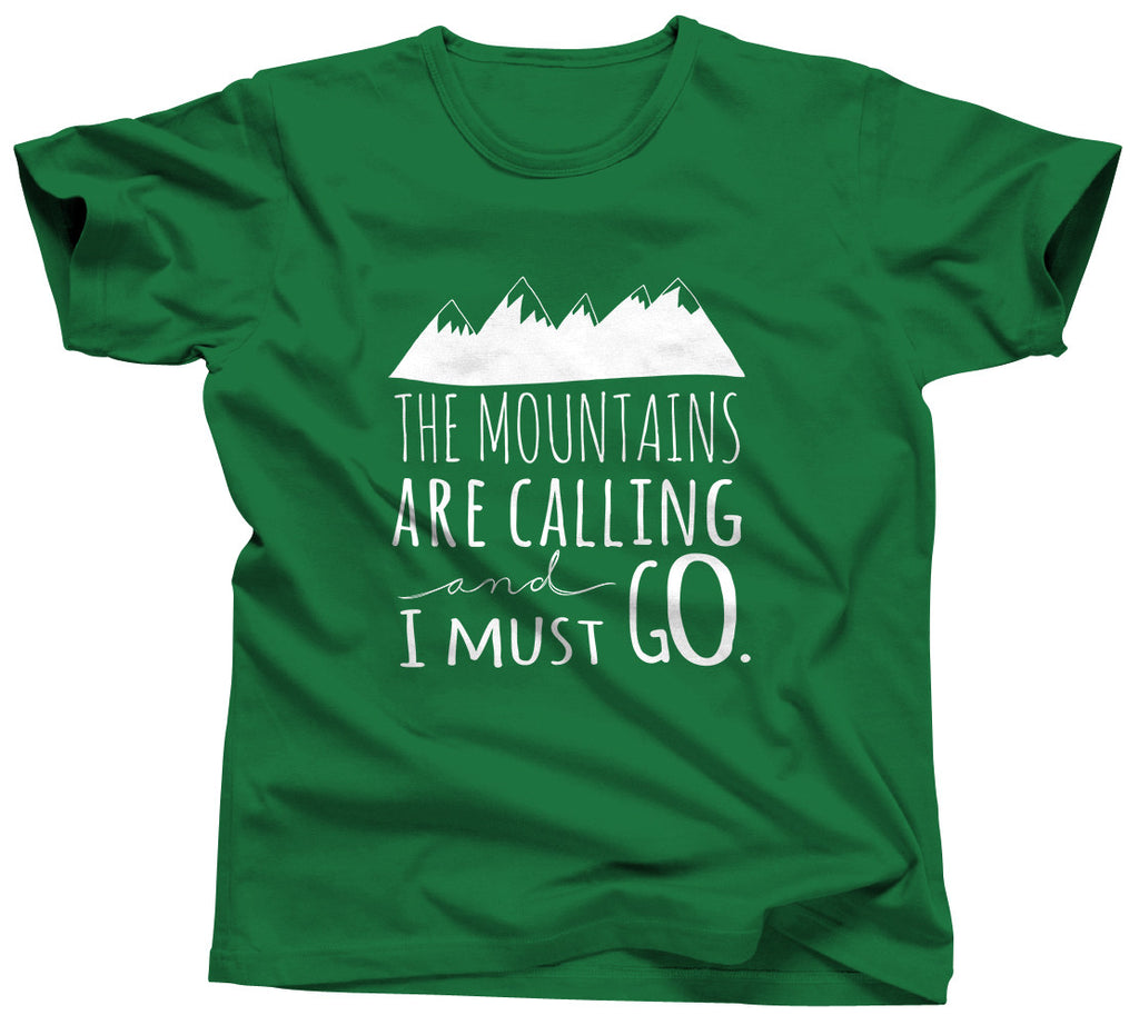 The Mountains Are Calling and I Should Go Tshirt - Unisex Tee - UMBUH - 3