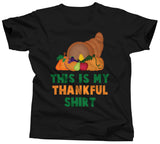 This Is My Thankful Thanksgiving Shirt - Unisex Tee - UMBUH