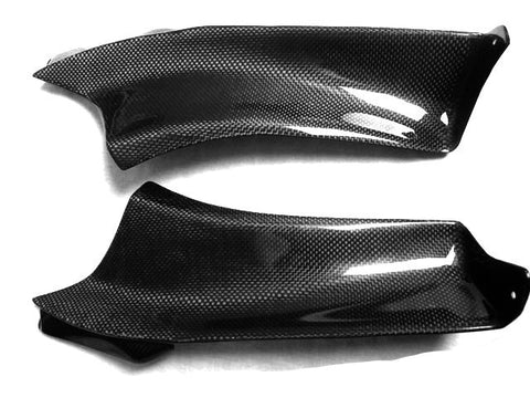 Aprilia Carbon Fiber RSVR Side Fairing Top Covers Both Parts Left and Right 2004 2005 2006 2007 2008 2009  - MDI CarbonFiber