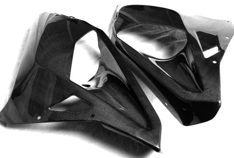 Aprilia Carbon Fiber RSVR Side Panels 2004 2005 2006 2007 2008 2009  - MDI CarbonFiber