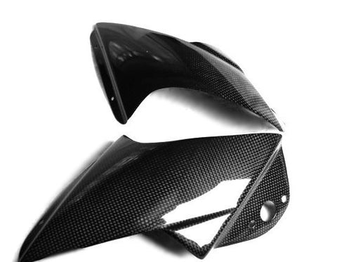 Aprilia Carbon Fiber RSVR Front Fairing Air Scoops 2004 2005 2006  - MDI CarbonFiber