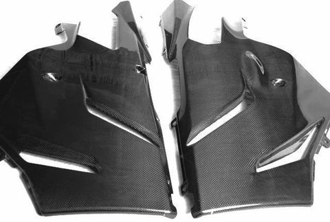 Aprilia Carbon Fiber RSVR Belly Pan 2004 2005 2006 2007 2008 2009  - MDI CarbonFiber