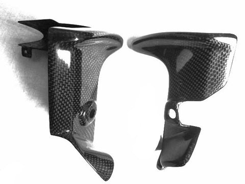 Aprilia Carbon Fiber RSV Tuono Water Bottle Cover 2006 2007 2008  - MDI CarbonFiber