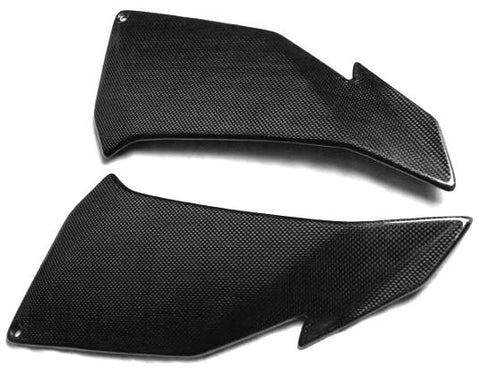 Aprilia Carbon Fiber Tuono V4 Side Fairing Panels Covers 2011-2012-2013-2014 Plain / Glossy - MDI CarbonFiber - 5