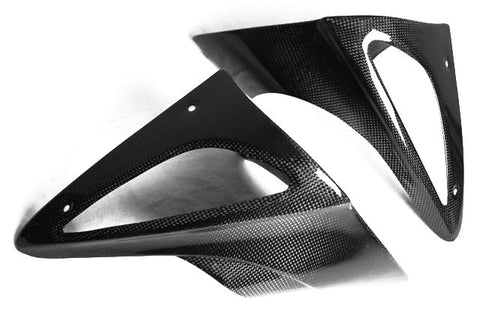 BMW Carbon Fiber R1100S Boxer Cup Turn Signal Covers  - MDI CarbonFiber - 1