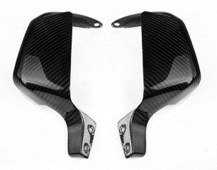 BMW G650GS Carbon Fiber Hand Guards  - MDI CarbonFiber