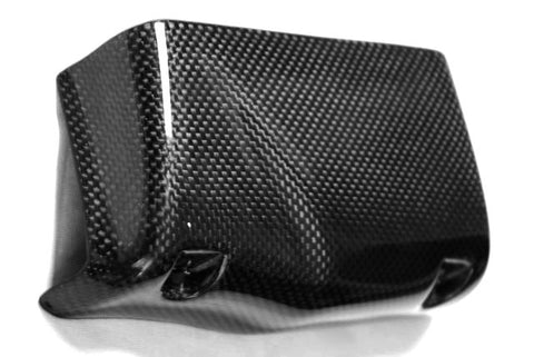 Buell Carbon Fiber Oil Cooler Cover fits only models XB9 and XB12  - MDI CarbonFiber