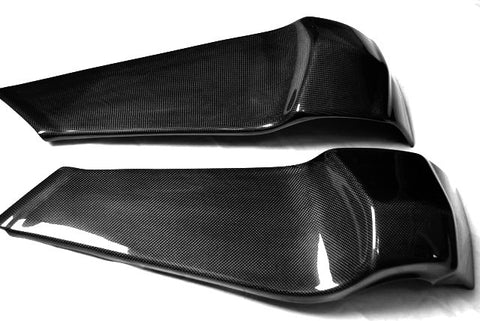Buell Carbon Fiber Frame Covers fits only models XB9 XB12.  - MDI CarbonFiber
