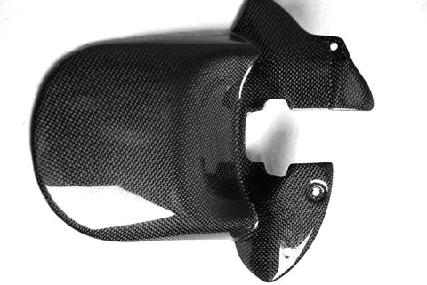 Buell Carbon Fiber Rear Fender  Mudguard  Hugger fits only models XB9 and XB12 For years 2006 2007 2008  - MDI CarbonFiber