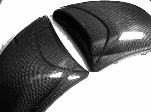Buell Carbon Fiber Air Scoop ONLY for model 1125  - MDI CarbonFiber
