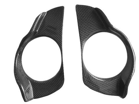 Buell Carbon Fiber XB9R and XB12R Headlight Covers  - MDI CarbonFiber