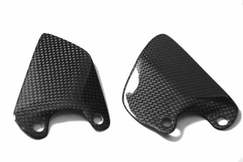 Ducati Carbon Fiber Heel Plates for models 748 916 996 998  - MDI CarbonFiber - 1