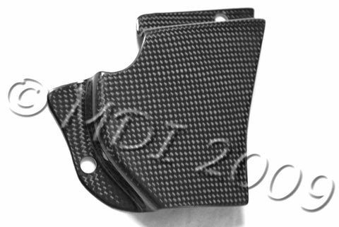 Ducati Carbon Fiber Sprocket Cover for models 748 916 996 998  - MDI CarbonFiber - 1