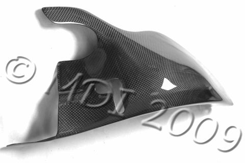 Ducati Carbon Fiber Swingarm Cover for models 748 916 996 998  - MDI CarbonFiber - 1