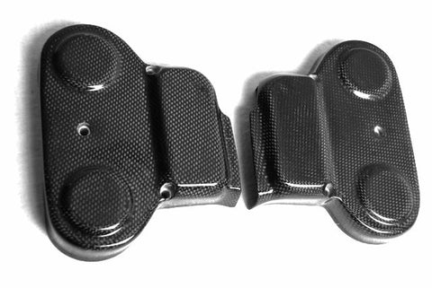 Ducati Carbon Fiber Upper Belt Covers for models 748 916 996 998  - MDI CarbonFiber - 1