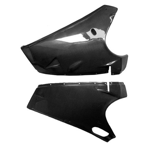 Ducati Carbon Fiber 998 Lower Fairings  - MDI CarbonFiber