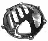 Ducati Carbon Fiber Dry Clutch Cover for All Models  - MDI CarbonFiber - 1