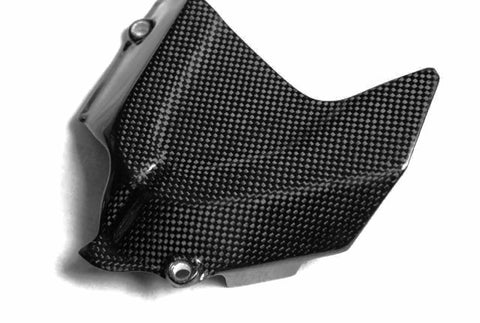 Ducati Carbon Fiber Closed Front Sprocket Cover for models 848 1098 1198  - MDI CarbonFiber - 1