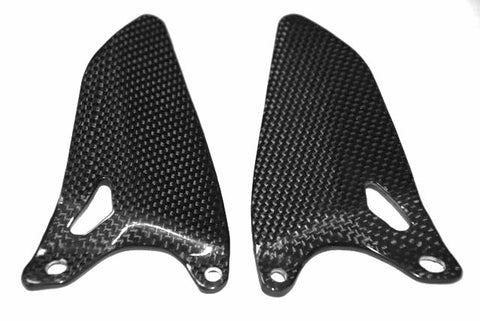 Ducati Carbon Fiber Heel Guards for models 848 1098 1198  - MDI CarbonFiber - 1